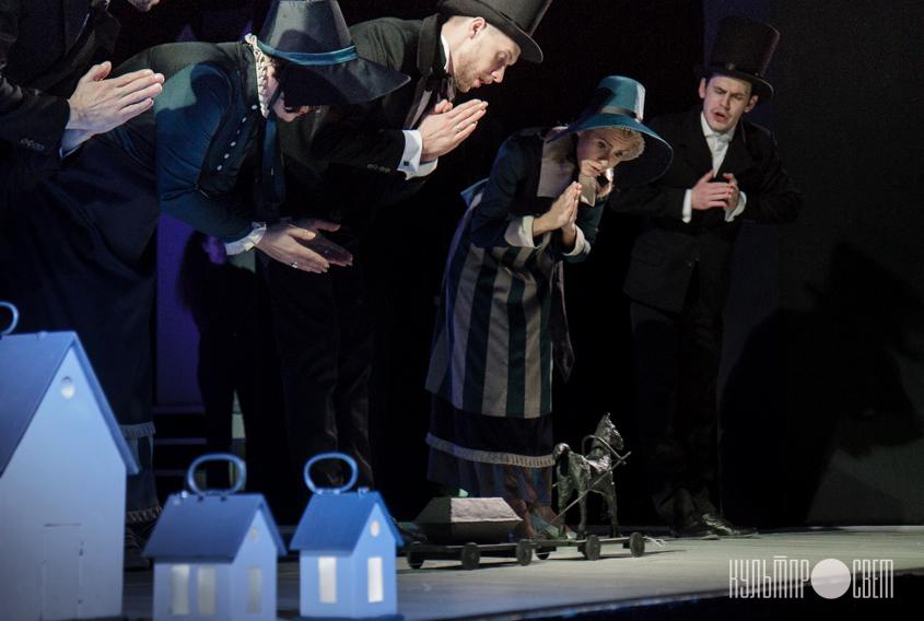 «Рождественская история», Белорусский государственный театр кукол. Фото: Анна Довгель