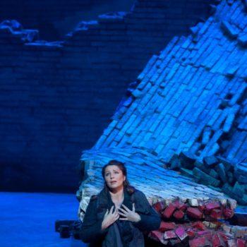 """Barbara Frittoli as Micaëla in Bizet's """"Carmen.""""  Photo: Ken Howard/Metropolitan Opera  Taken at the Metropolitan Opera during the dress rehearsal on December 28, 2009."""