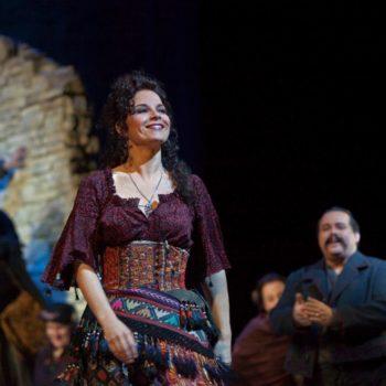 "Elina Garanca in the title role of Bizet's ""Carmen."" Photo: Ken Howard/Metropolitan Opera  Taken at the Metropolitan Opera during the dress rehearsal on December 22, 2009."