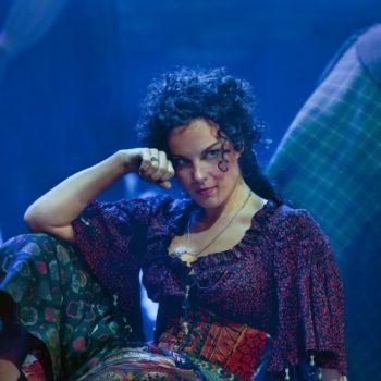 "Elina Garanca in the title role of Bizet's ""Carmen.""  Photo: Ken Howard/Metropolitan Opera  Taken at the Metropolitan Opera during the dress rehearsal on December 28, 2009."