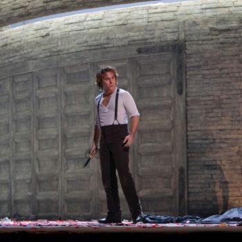 "Roberto Alagna as Don José in Bizet's ""Carmen.""  Photo: Ken Howard/Metropolitan Opera  Taken at the Metropolitan Opera during the dress rehearsal on December 28, 2009."