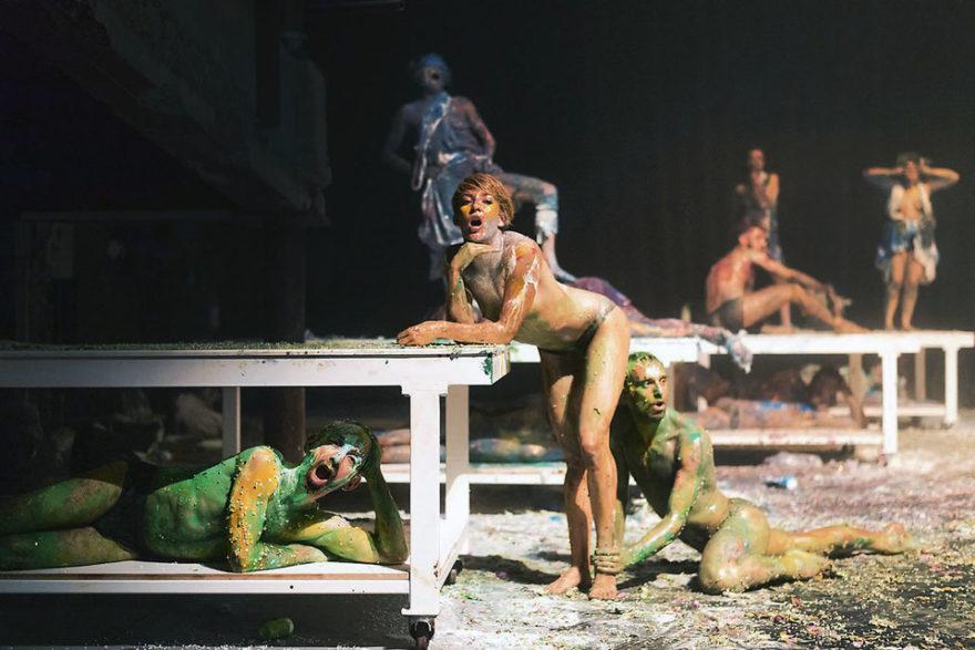 Спектакль «Гора Олимп» Фото: Wonge Bergmann/Berliner Festspiele