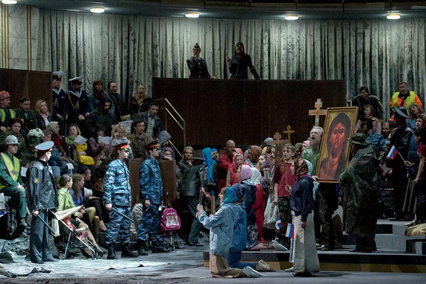 Опера «Борис Годунов» в Мариинском театре, реж. Грэм Вик