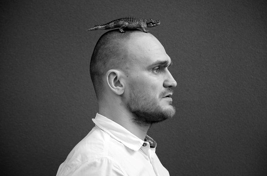 Юрий Диваков – актер и режиссер, художественный руководитель проекта Laboratory figures Oskar Schlemmer. Фото: Дина Данилович.