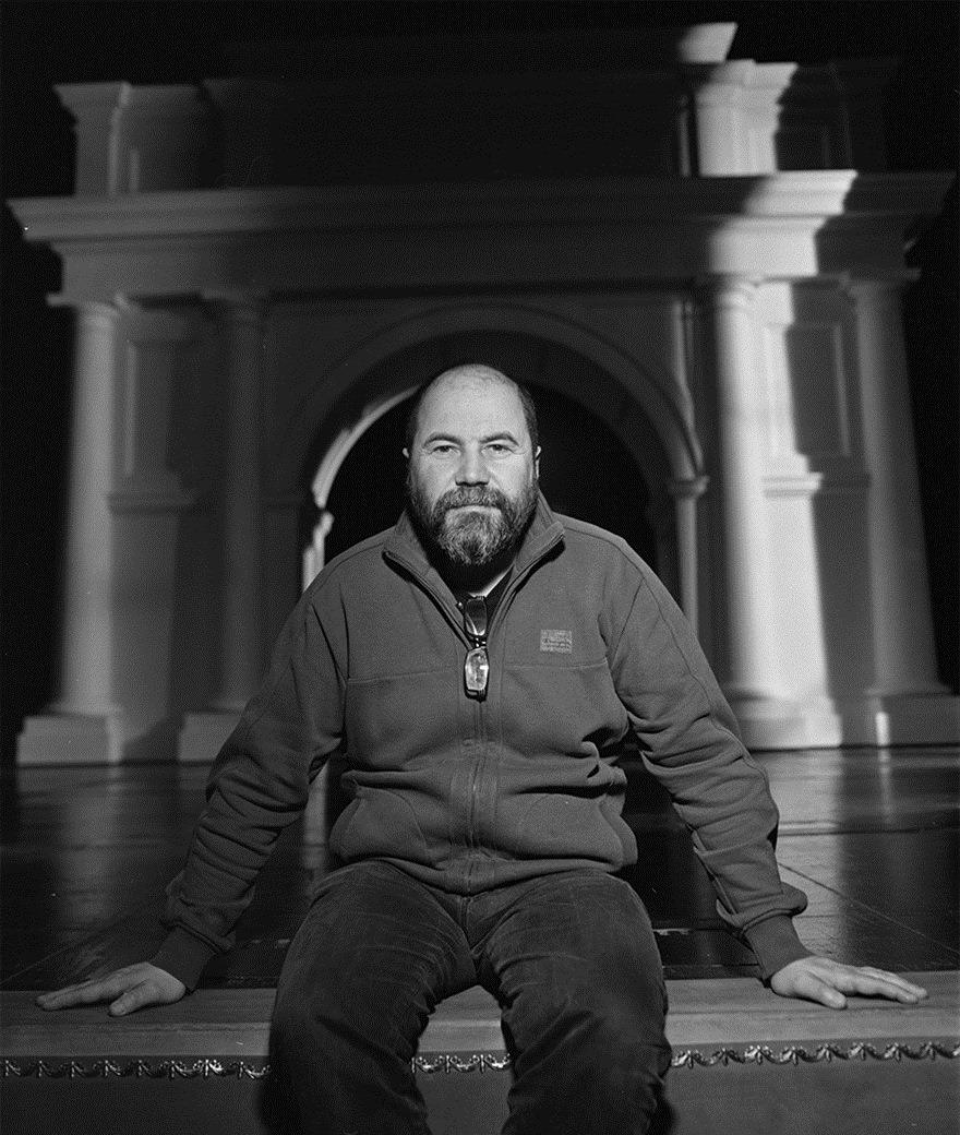 Зиновий Марголин – сценограф. Фото: Егор Войнов.