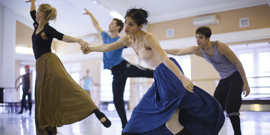 Балет шесть танцев Иржи Килиана